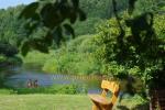 Turistinė stovykla sąskrydžiams ir pramogoms, baidarių nuoma Minijos senvagė