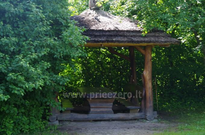 Turistinė stovykla sąskrydžiams ir pramogoms, baidarių nuoma Minijos senvagė - 6