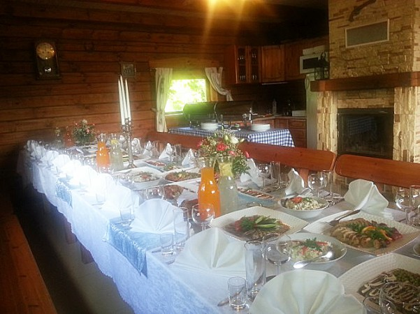 Pokylių salė sodyboje Radviliškio rajone Žinėnai - 1