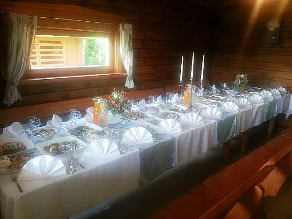 Pokylių salė sodyboje Radviliškio rajone Žinėnai - 2