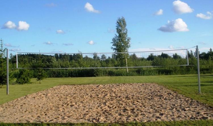 Krepšinio, tinklinio, futbolo aikštelės ir kitos aktyvios pramaogos sodyboje Žinėnai - 3