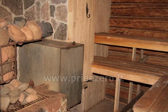 Pirtis ir kubilas sodyboje Degesinė Utenos rajone prie Šventosios upės - 2