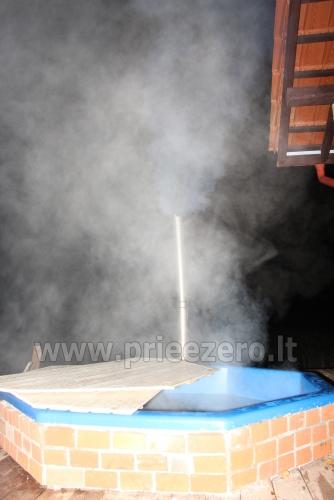 Aktyvios pramogos sodyboje Vilkaviškio rajone Karaliaus krėslas - 12