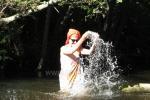 Ritualinės pirtys, kubilas. Sodyboje yra unikalių šaltinių vandens tvenkiniai - 7