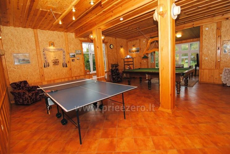 Žvejyba, biliardas, stalo tenisas, futbolo ir krepšinio aikštelės sodyboje  Antalakaja - 1