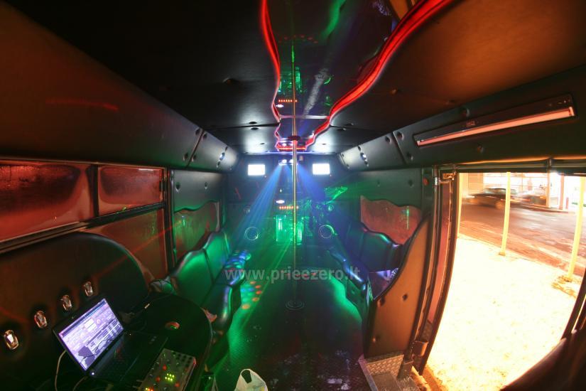 Autobuso VIP bus nuoma šventėms - 8