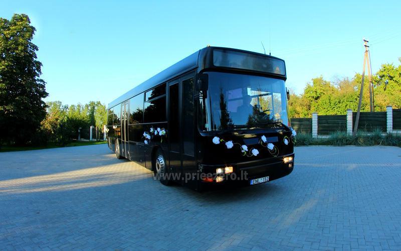 Autobuso VIP bus nuoma šventėms - 9