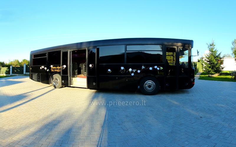 Autobuso VIP bus nuoma šventėms - 10