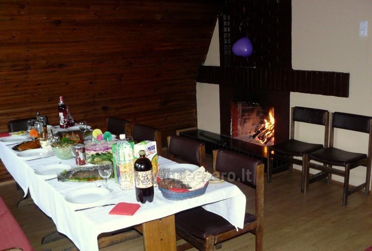 Kavinė, banketų ir konferencijų salės Molėtų rajone poilsio bazėje RŪTA - 8