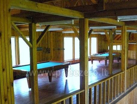 Kavinė, banketų ir konferencijų salės Molėtų rajone poilsio bazėje RŪTA - 15