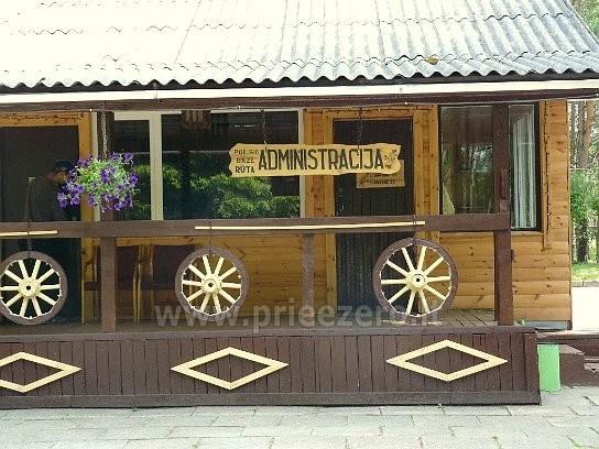 Visus metus veikianti poilsio bazė prie Bebrusų ežero Molėtų rajone RŪTA - 12