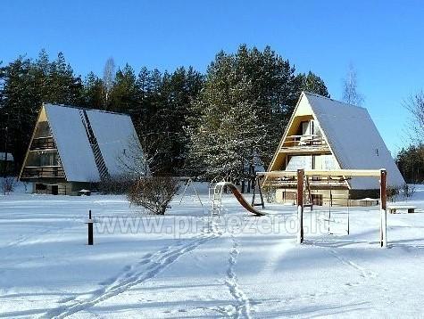 Visus metus veikianti poilsio bazė prie Bebrusų ežero Molėtų rajone RŪTA - 17