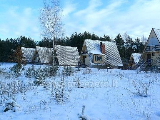 Visus metus veikianti poilsio bazė prie Bebrusų ežero Molėtų rajone RŪTA - 18