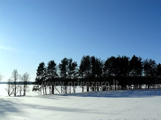 Visus metus veikianti poilsio bazė prie Bebrusų ežero Molėtų rajone RŪTA - 20