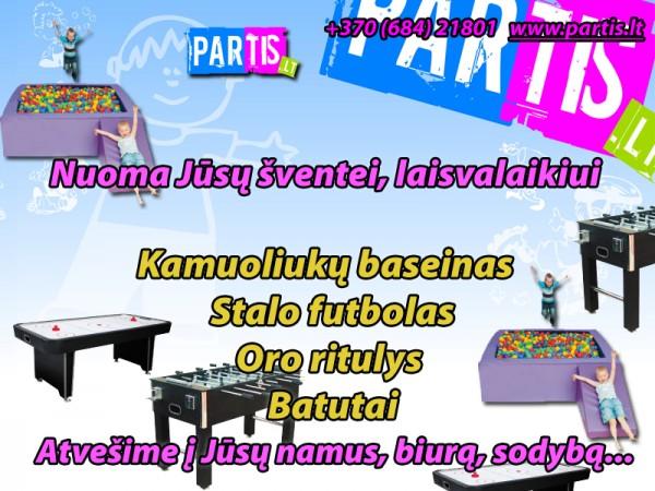 Kaunas, stalo futbolas, tenisas