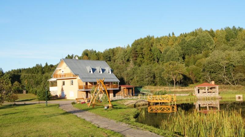 Paplūdimio tinklinio aikštelė sodyboje Šiaulių rajone Prie upės - 5