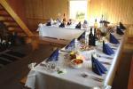 """Pokylių salė įvairioms šventėms, susitikimams, seminarams sodyboje """"Žalioji Stotelė"""""""