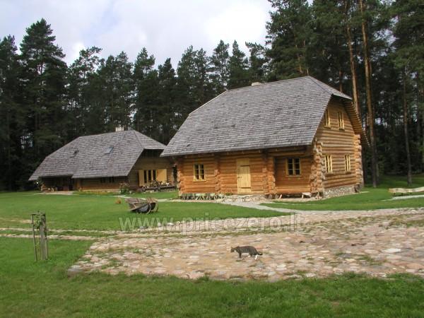 Banketų salė, pirtis V.Šerėno sodyboje Švenčionių rajone - 3