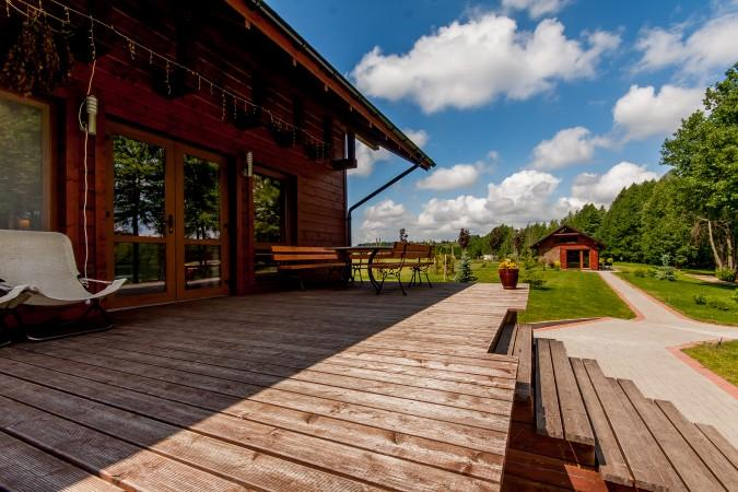 Sodyba vestuvėms Vila Viesai - pirtys, banketų salė prie Viesų ežero - 17