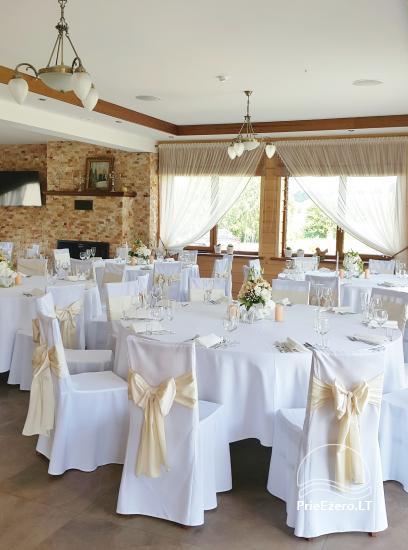Sodyba vestuvėms Vila Viesai - pirtys, banketų salė prie Viesų ežero - 24