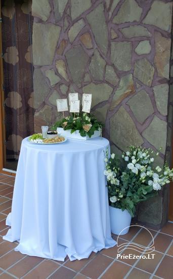 Sodyba vestuvėms Vila Viesai - pirtys, banketų salė prie Viesų ežero - 31