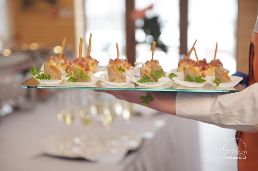 Sodyba vestuvėms Vila Viesai - pirtys, banketų salė prie Viesų ežero - 27