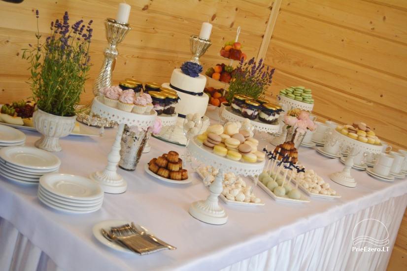 Sodyba vestuvėms Vila Viesai - pirtys, banketų salė prie Viesų ežero - 26