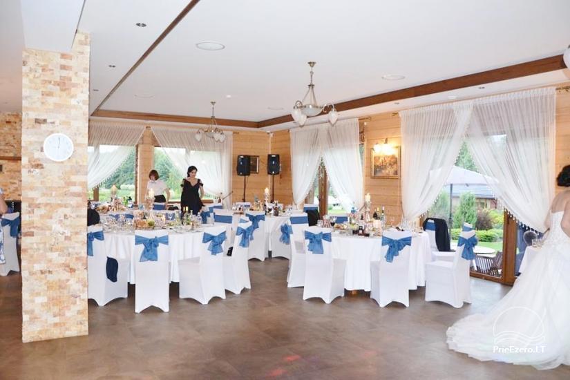 Sodyba vestuvėms Vila Viesai - pirtys, banketų salė prie Viesų ežero - 19