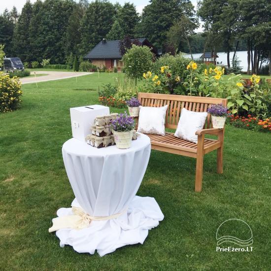 Sodyba vestuvėms Vila Viesai - pirtys, banketų salė prie Viesų ežero - 15