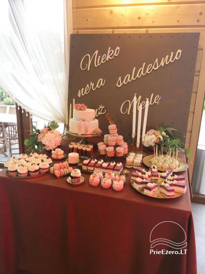 Sodyba vestuvėms Vila Viesai - pirtys, banketų salė prie Viesų ežero - 25