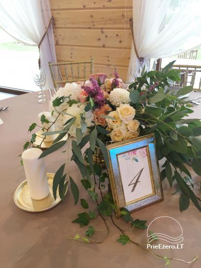 Sodyba vestuvėms Vila Viesai - pirtys, banketų salė prie Viesų ežero - 33