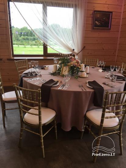 Sodyba vestuvėms Vila Viesai - pirtys, banketų salė prie Viesų ežero - 22