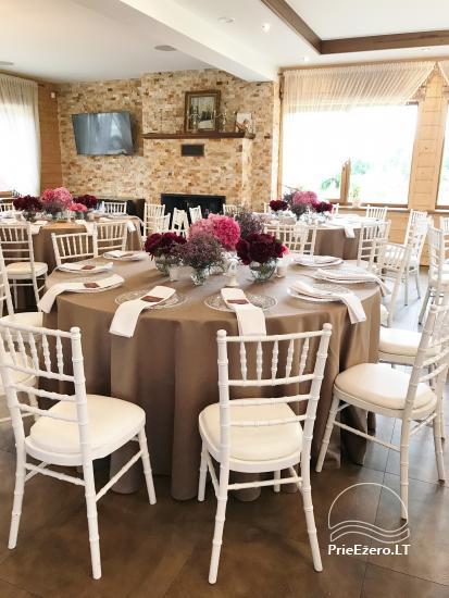 Sodyba vestuvėms Vila Viesai - pirtys, banketų salė prie Viesų ežero - 21