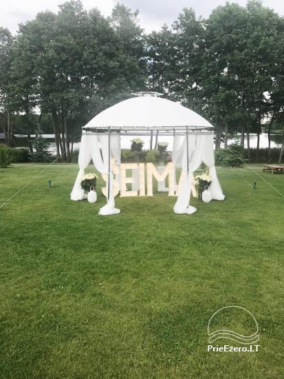 Sodyba vestuvėms Vila Viesai - pirtys, banketų salė prie Viesų ežero - 4