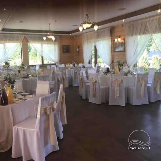 Sodyba vestuvėms Vila Viesai - pirtys, banketų salė prie Viesų ežero - 23