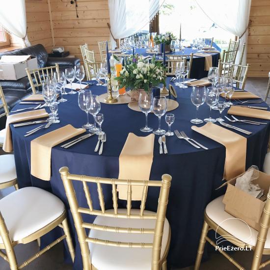 Sodyba vestuvėms Vila Viesai - pirtys, banketų salė prie Viesų ežero - 20