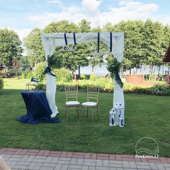 Sodyba vestuvėms Vila Viesai - pirtys, banketų salė prie Viesų ežero - 14