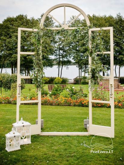 Sodyba vestuvėms Vila Viesai - pirtys, banketų salė prie Viesų ežero - 5