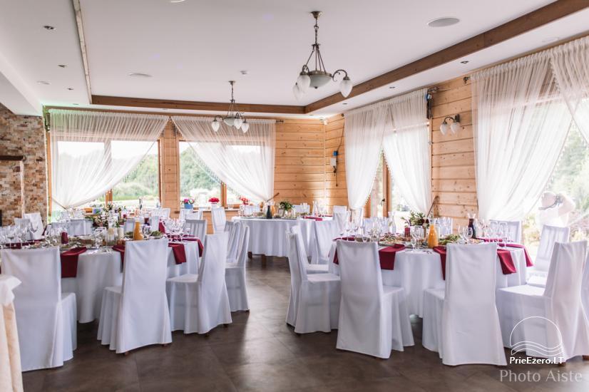 Sodyba vestuvėms Vila Viesai - pirtys, banketų salė prie Viesų ežero - 1