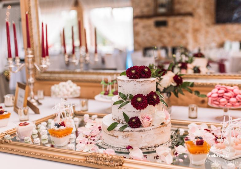 Sodyba vestuvėms Vila Viesai - pirtys, banketų salė prie Viesų ežero - 12