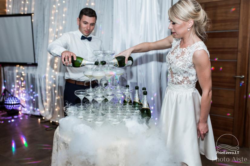 Sodyba vestuvėms Vila Viesai - pirtys, banketų salė prie Viesų ežero - 11