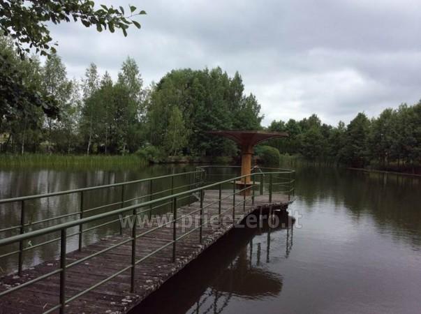 Panoraminė pirtelė ant ežero kranto. Su apgyvendinimu. - 17