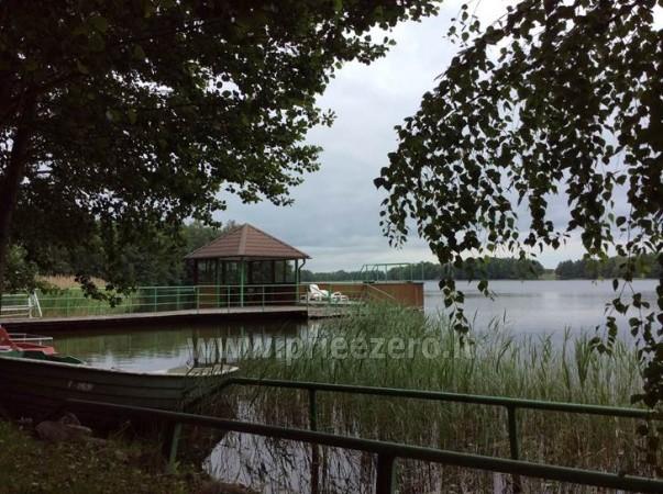 Panoraminė pirtelė ant ežero kranto. Su apgyvendinimu. - 18
