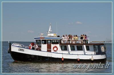 Laivo, jachtos, katerio nuoma - Iškyla laivu, šventė laive mariose, Nemune, jūroje - 1