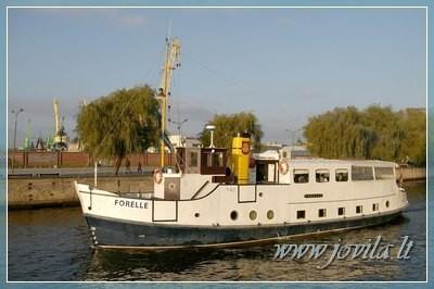 Laivo, jachtos, katerio nuoma - Iškyla laivu, šventė laive mariose, Nemune, jūroje - 3