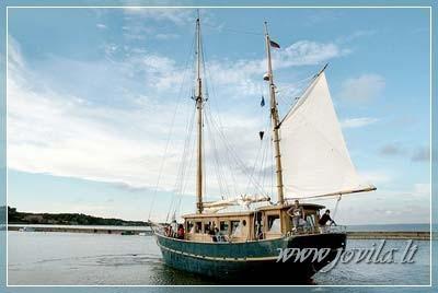 Laivo, jachtos, katerio nuoma - Iškyla laivu, šventė laive mariose, Nemune, jūroje - 8