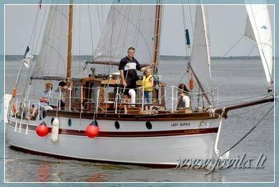 Laivo, jachtos, katerio nuoma - Iškyla laivu, šventė laive mariose, Nemune, jūroje - 9