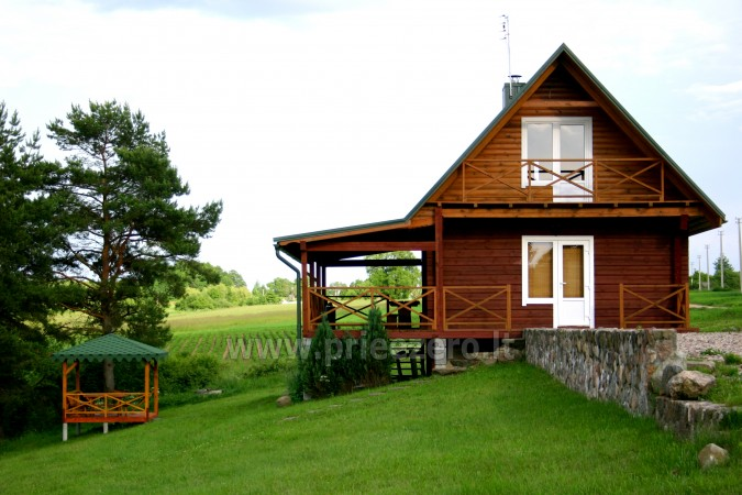 Pirtis sodyboje Trakų rajone prie Vilkokšnio ežero - 5
