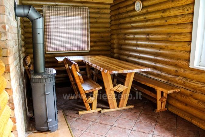 Pirtis sodyboje Trakų rajone prie Vilkokšnio ežero - 15