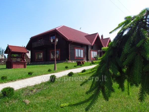 Salė vestuvėms, krikštynoms, seminarams sodyboje Vytautų dvaras Lazdijų rajone - 1